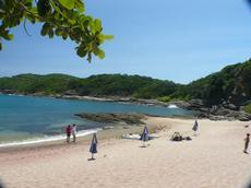 Praia do Forno ( outro lado da península de Búzios) fica a 1000 m em linha reta da portaria principal