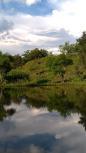 Lago para pescaria