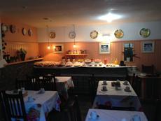 Salão do café da manhã.