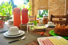 Café da manhã sempre gostoso!!!!