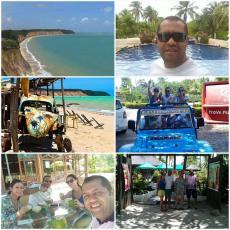 Praia de Capitão Nicolas e carro quebrado