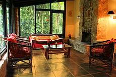 Sala de estar de uma das residencias