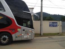 Temos espaço e vagas para ônibus de excursões.