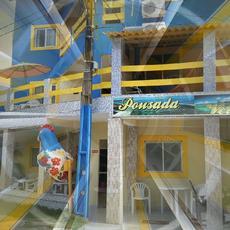 Foto da Fachada da Pousada Veleiro de porto
