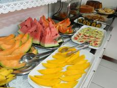 Frutas do café da manhã.