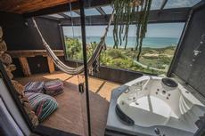 Varanda fechada Cabana Luxo Rosa Norte