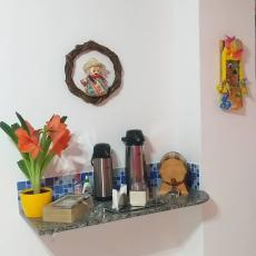 Café e chá cortesia