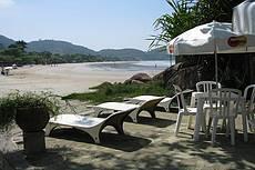 Vista privilegiada da praia