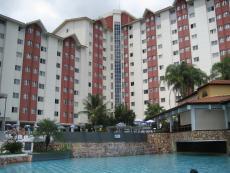 Vista da área comum interna do Hotel.