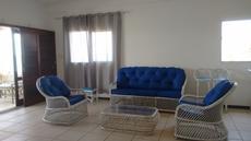 Sala apartamento vista para o mar 2º andar