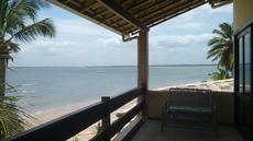Vista da varanda apartamento vista para o mar 2º andar