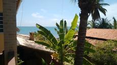 vista da varanda apartamento vista lateral par o mar