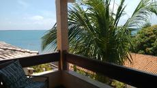 vista da varanda apartamento vista lateral para o mar 2º andar