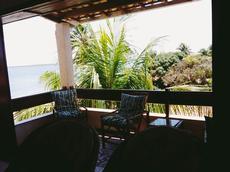 Varanda apartamento vista lateral para o mar 2º andar