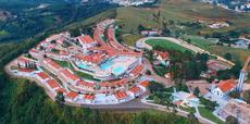 Foto Aérea do Hotel Vale do Sol em Serra Negra/SP.