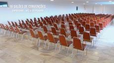 Completa estrutura para realizar a sua convenção. No total disponibilizamos 16 salões com capacidades entre 40 a 1800 pessoas, 10 salas de apoio e salão de coquetel e Stands.