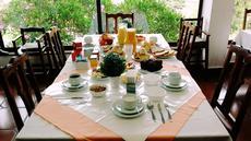 Restaurante do Café da Manhã:  Inicie seu dia com um completo Café da Manhã. Um Local agradável e acolhedor.