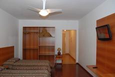 Apartamentos:  Disponibilizamos de 31 apartamentos todos com varanda, TV de LED, ventilador de teto, frigobar, fechadura eletrônica das portas, ramal telefônico e internet wireless.