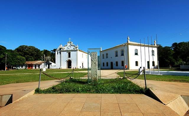 Preservadas construções contam a história da colonização do Brasil