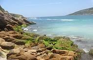 O ponto mais bonito da praia