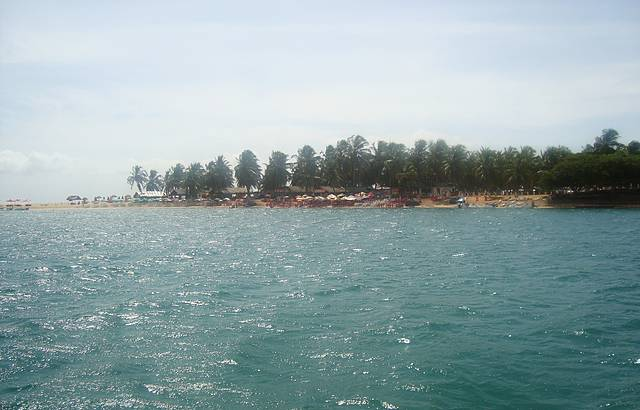 Vista do passeio de barco pelo rio
