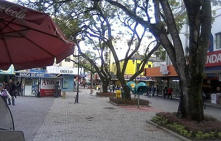Praça Nereu Ramos - Calçadão
