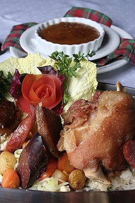 Eisbein está entre os pratos mais saborosos da  culinária germânica