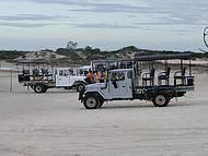 Meio de transporte às dunas