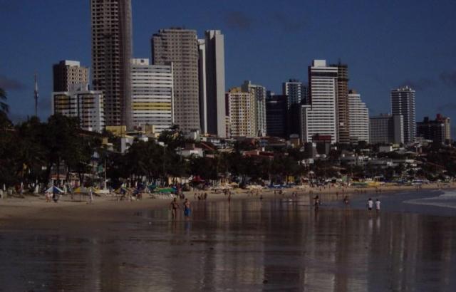 Praia Ponta Negra 13\08\2011