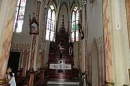 Interior da Igreja Matriz.