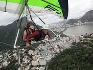 Voo sobre a zona sul do rio de janeiro. www.flex1delta.com.br