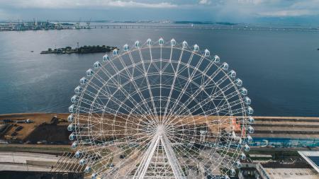 Vistas espetaculares a 88 metros de altura!