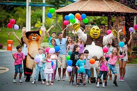 Beto Carrero World - Shrek e cia animam a garotada