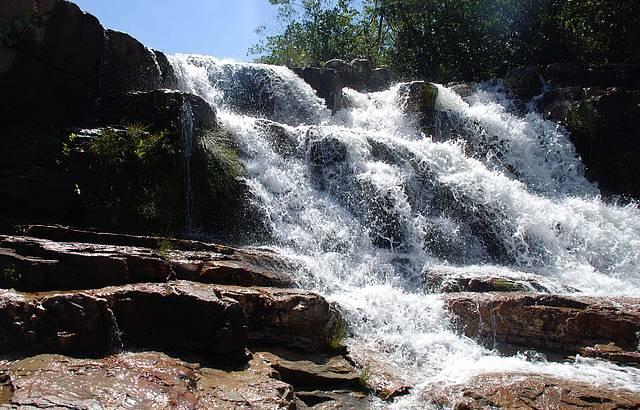 Chachoeira Almécegas 2 na Chapada dos Veadeiros