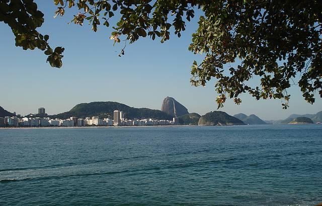 Passeando no Forte de Copacaba, numa bela tarde de sol.