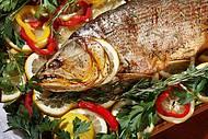 Peixes fazem parte dos card�pios