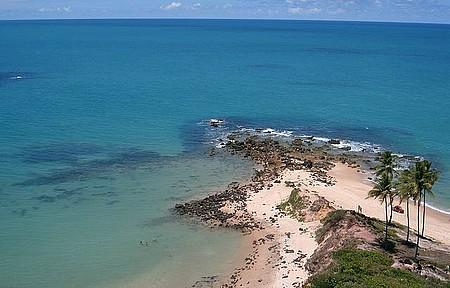 Ponta entre Jacumã e Carapibus