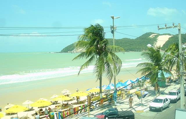 Que praia maravilhosa
