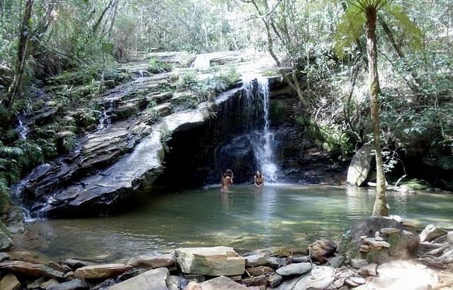 Cachoeiras nos arredores de Tiradentes