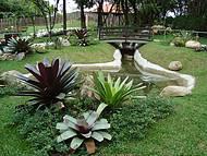 Um dos Jardins
