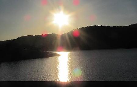 Represa - Pôr do Sol em Salesópolis