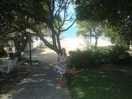 Acesso a praia em frente ao Hotel Coroa Vermelha