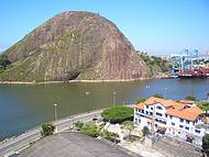 Região portuária: Vista da Pedra do Penedo