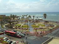 Vista do Hotel Pirâmide Pituba