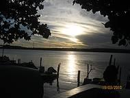 Fim da tarde na Lagoa de Mundaú