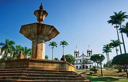 Espaço reúne Chafariz Monumental  e Matriz de Nossa da Conceição
