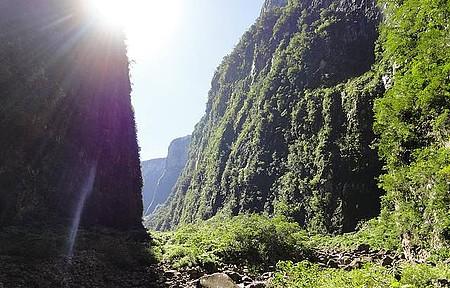 Parque Nacional Aparados da Serra - Trilha do rio do boi