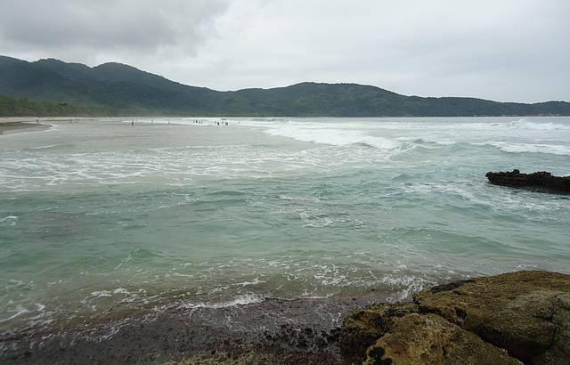 Vista da praia de Lopes Mendes
