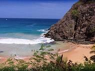 Praia do Cachorro - Buraco do Galego, lado direito da praia!