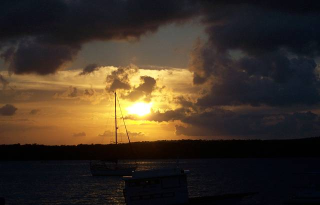 O mais famoso p�r do sol do Brasil